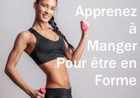 Manger sainement et faire du sport