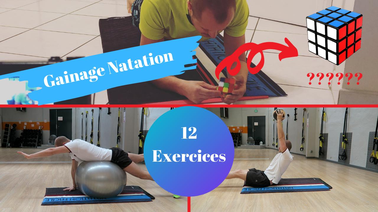 12 exercices de gainage pour les nageurs