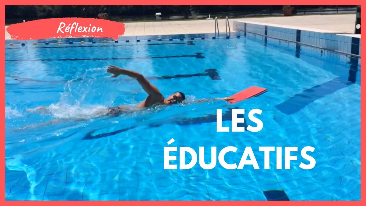 Quels éducatifs faire en natation ?